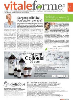 Vitalforme n°21 – Détoxifier le foie, Élixir du suédois, mélisse & rhodiola