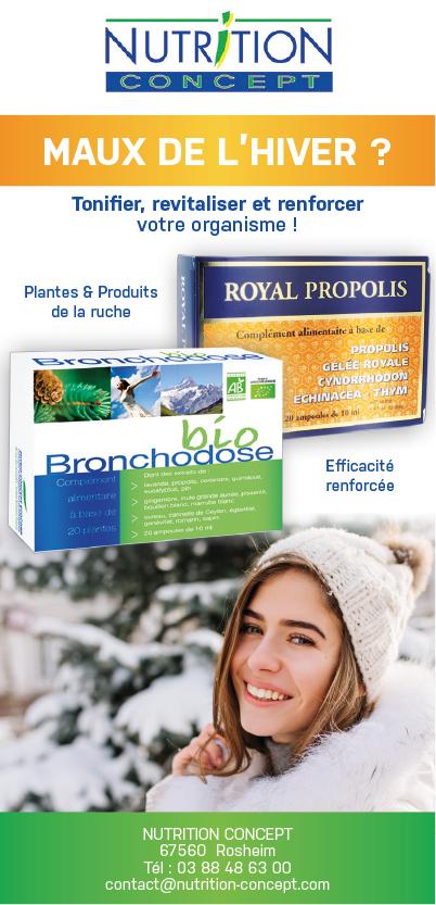 Bronchodose Royal propolis Nutrition Concept